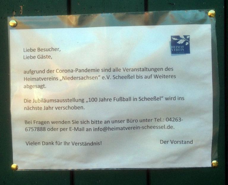 100 Jahre Fussball in Scheessel Fest