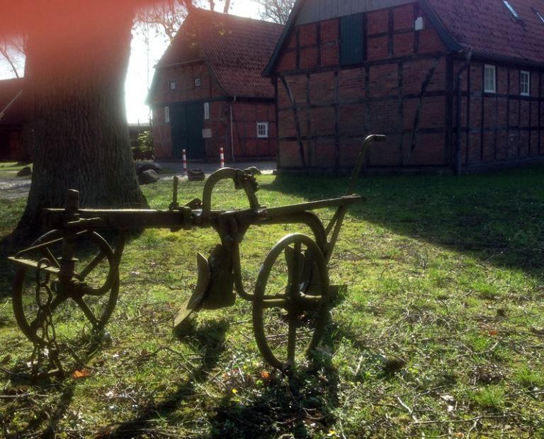 Bauernhaus Fachwerk Ausstellung in Scheeßel