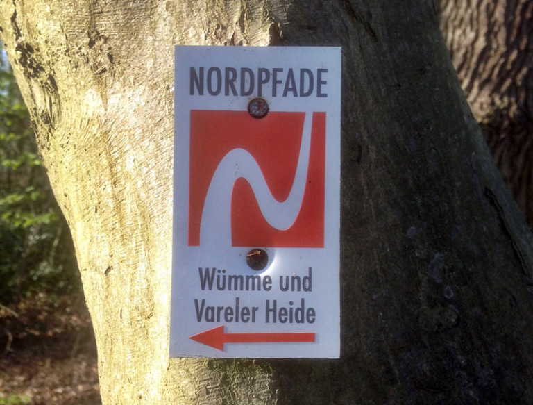 Nordpfad Wümme Vareler Heide