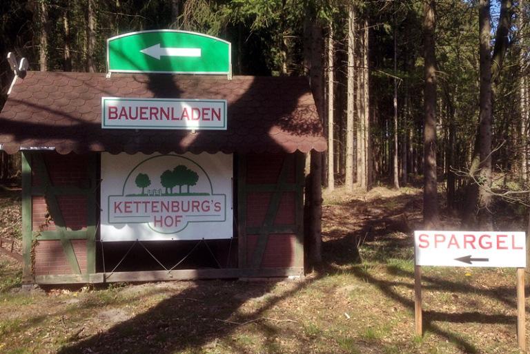 Spargel kaufen Unterstedt im Bauernladen Kettenburg