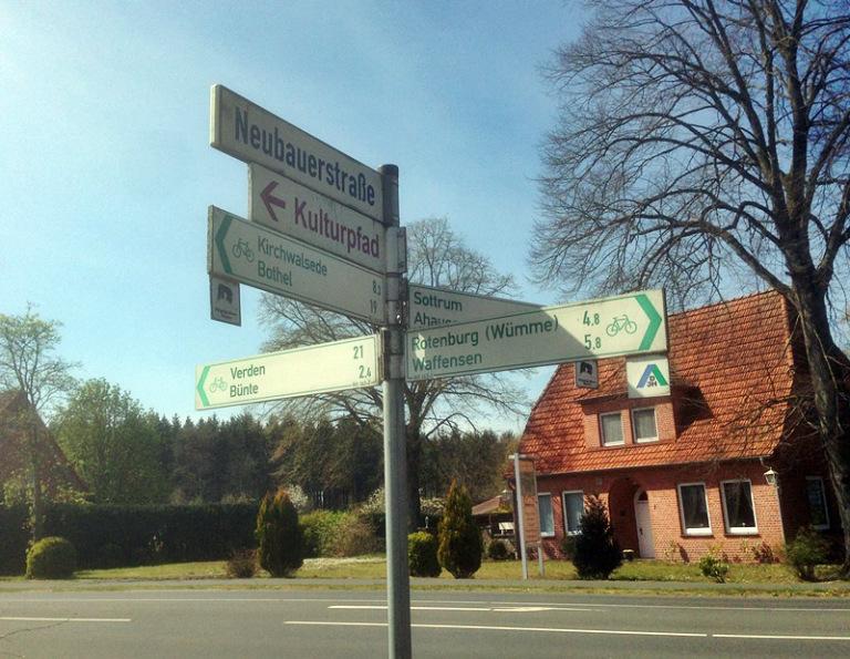 Unterstedt zwischen Rotenburg,Sottrum, Verden, Bothel und Kirchwalsede