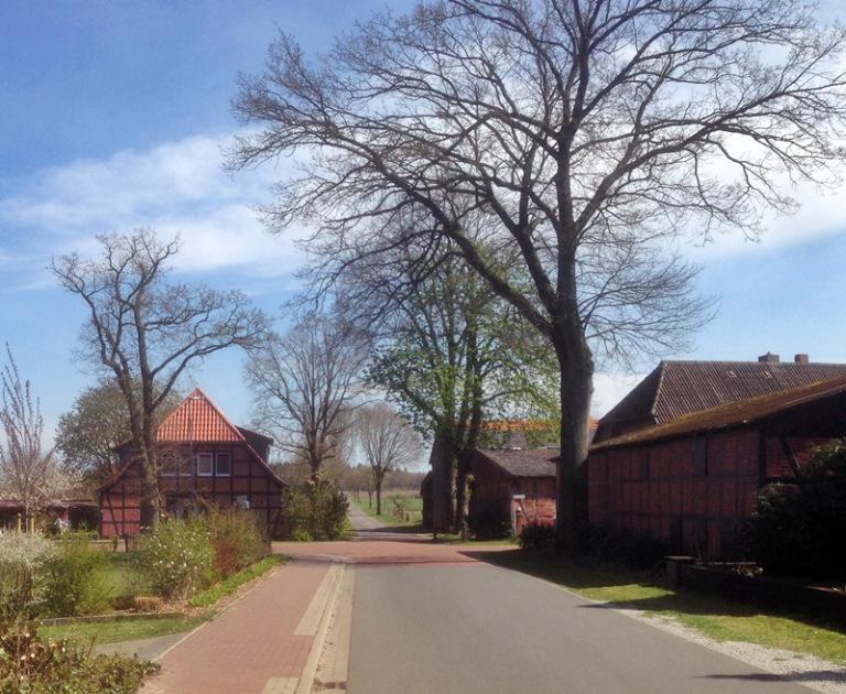 Unterstedt Dorf bei Rotenburg an der Wümme