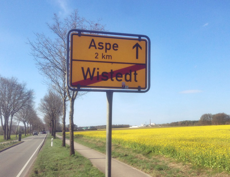 Wistedt bei Zeven Aspe